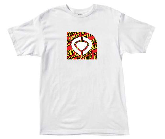 C1rca Fills Santa Cruz  White Ανδρικό T-Shirt