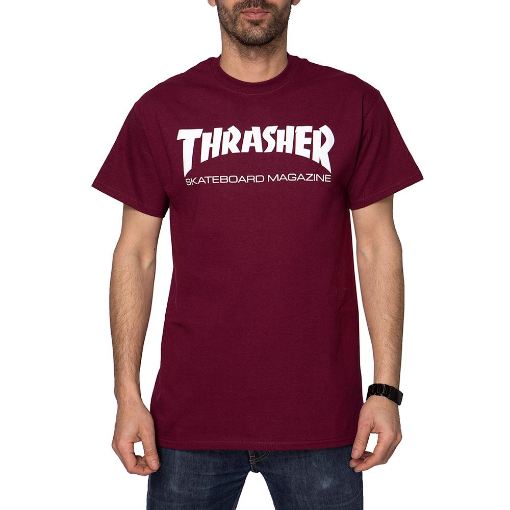 Thrasher Skate Mag Maroon Men's T-Shirt