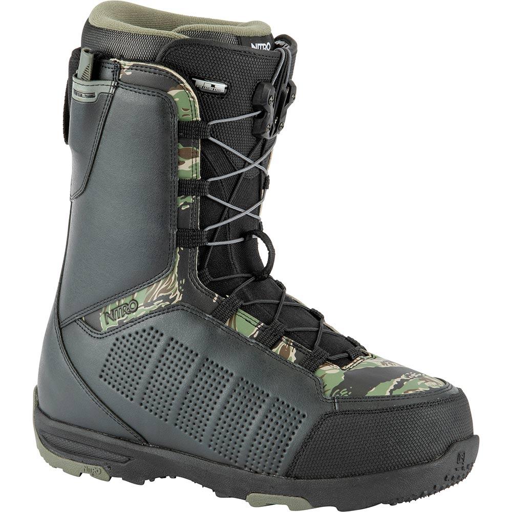 Nitro Thunder Tls Black Army Camo Print Men's Snowboard Boots