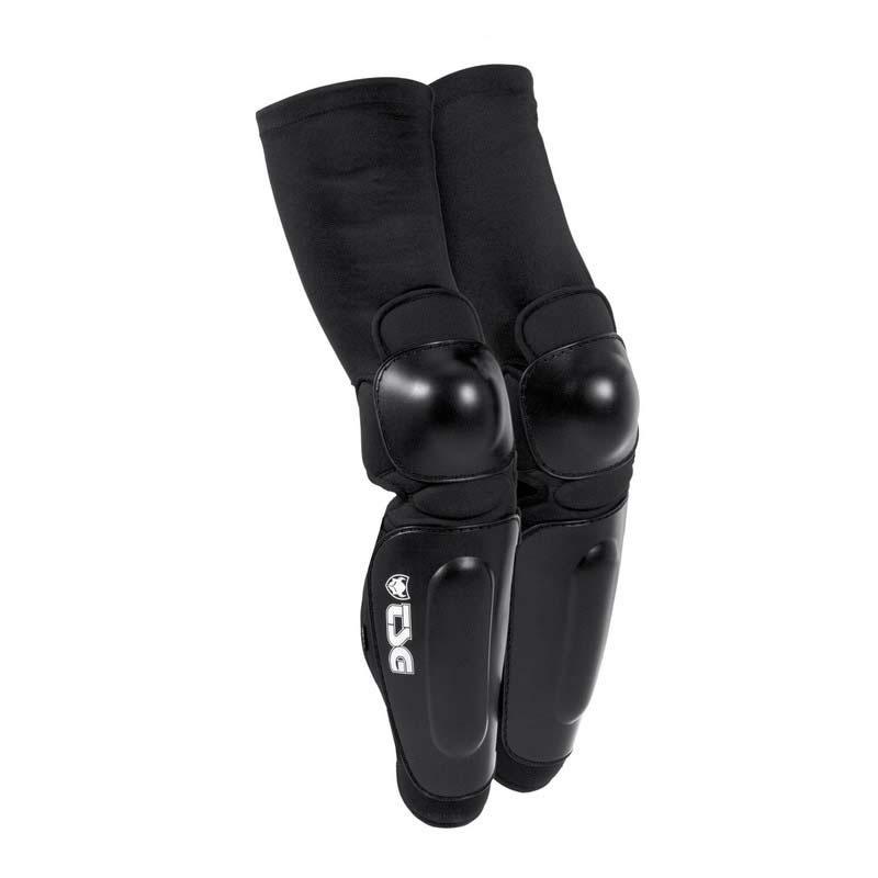 TSG  Bike Knee-Shinguard Black
