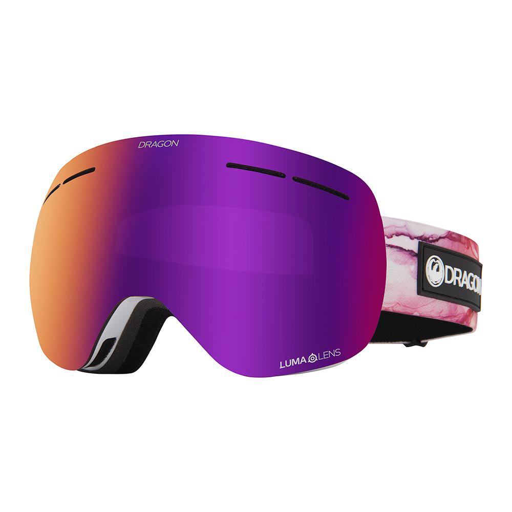 Dragon X1s Merlot w/Lumalens Purple Ion + Bonus Lens Snow Μάσκα
