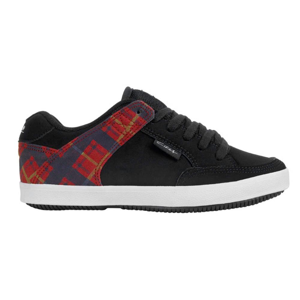 C1rca 205vulc Black/Red/Plaid Γυναικεία Παπούτσια