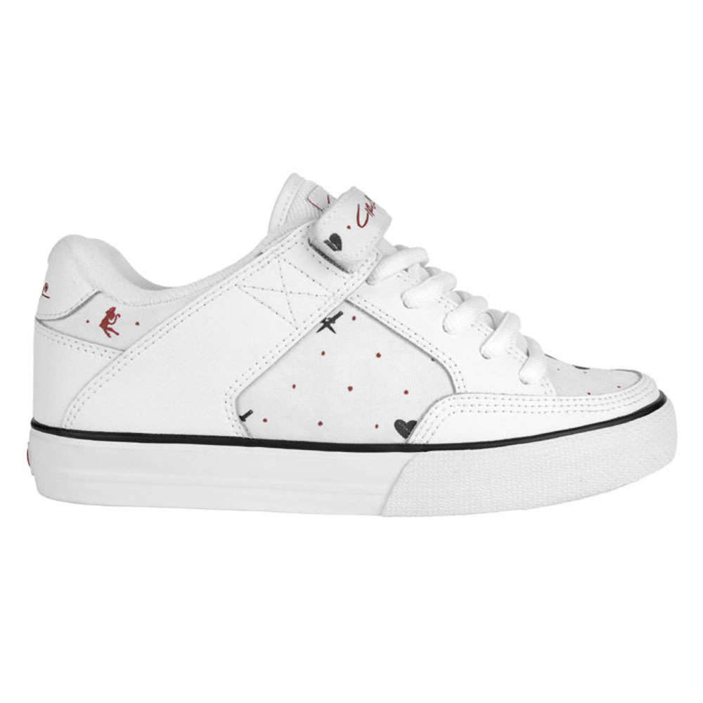 C1rca 205wvlc White Black Red Women's Shoes