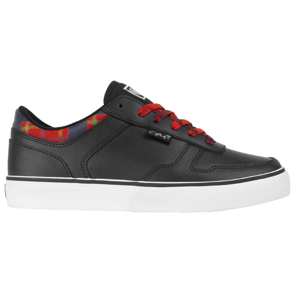 C1rca 4track Black/Red/Plaid Women's Shoes