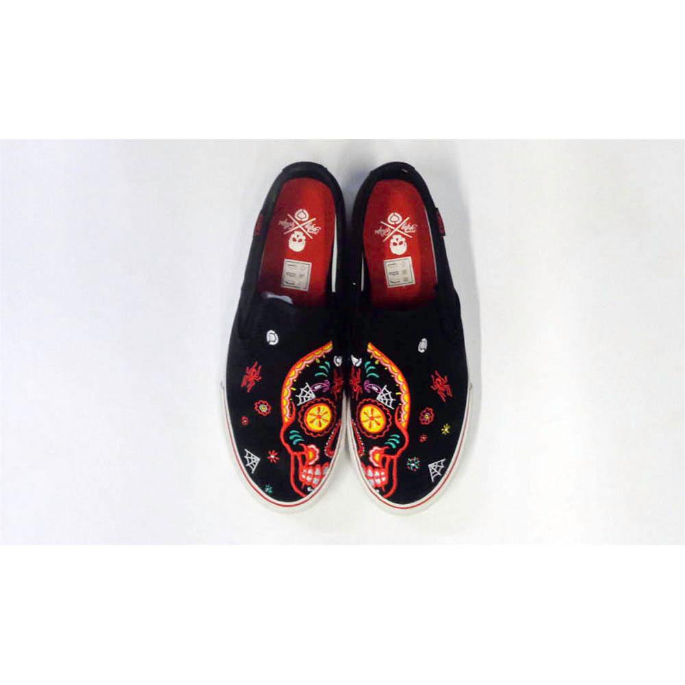 C1rca AL50 Slips Black Sugar Skull Ανδρικά Παπούτσια