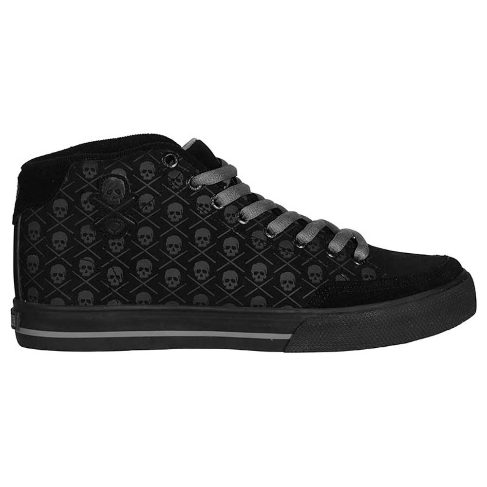C1rca AL50mid Black Skulls Men's Shoes
