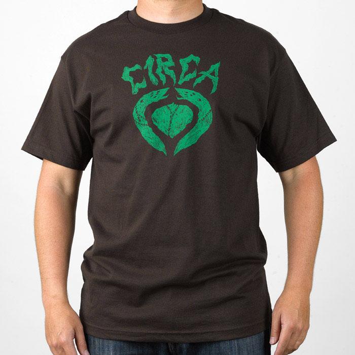C1rca Autopsy Icon Dark Chocolate Men's T-Shirt