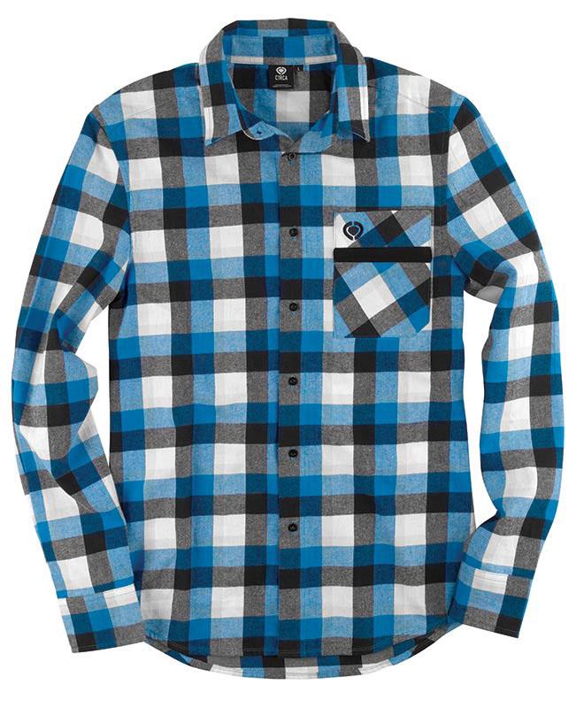 C1rca Bellahuston Atomic Blue Men's Shirt