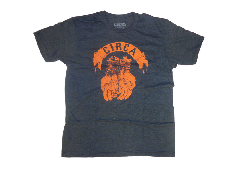 C1rca Bound Charcoal Men's T-Shirt