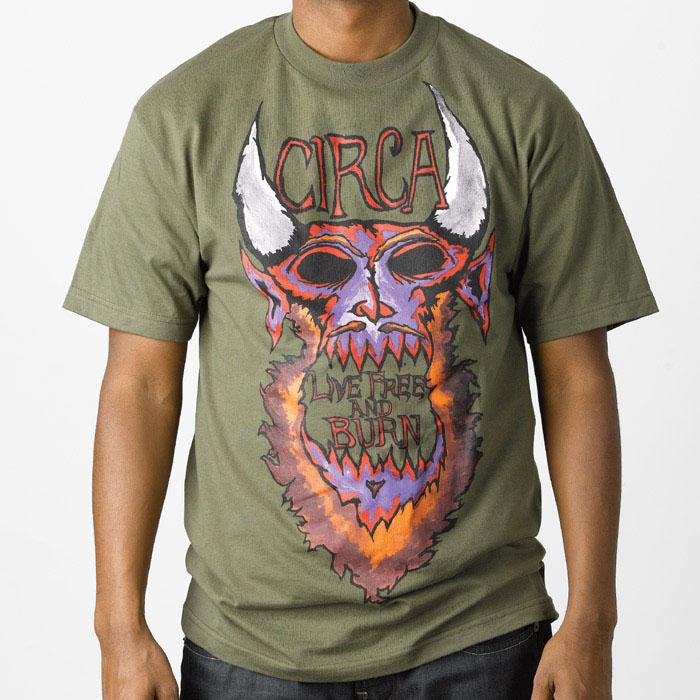 C1rca Burn Military/Green Ανδρικό T-Shirt