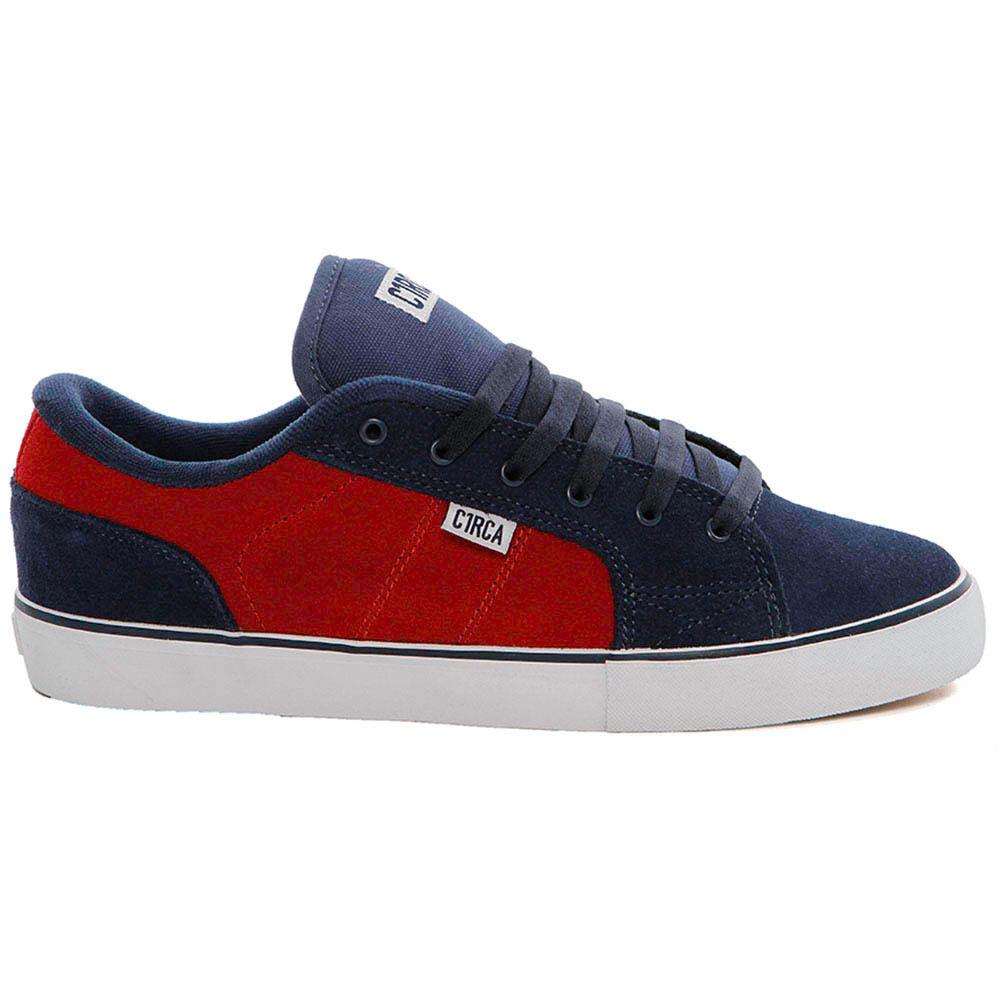 C1rca Cero Dark Navy Ribbon Red Men's Shoes