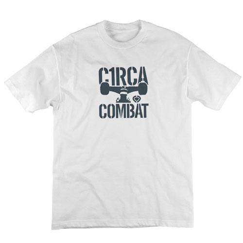 C1rca Combat Icon White Ανδρικό T-Shirt