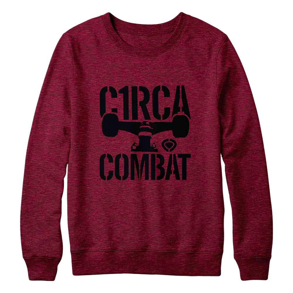 C1rca Combat Pompeian Red Ανδρικό Φούτερ