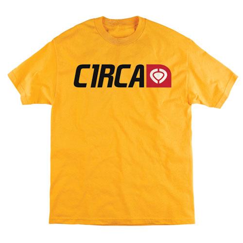 C1rca Corp Logo Gold Men's T-Shirt