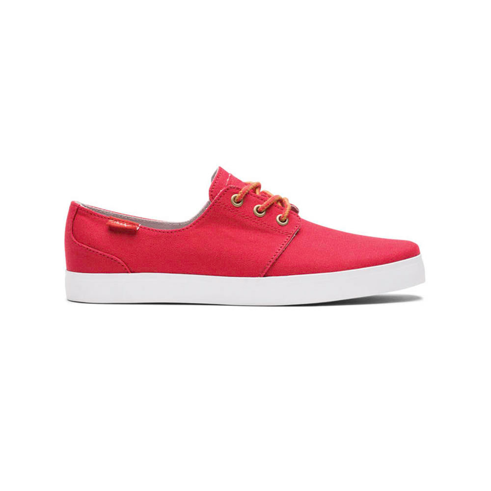 C1rca Crip Pompeian Red / White Men's Shoes