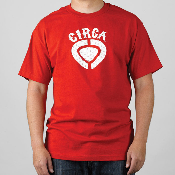 C1rca Cross Icon Red Men's T-Shirt