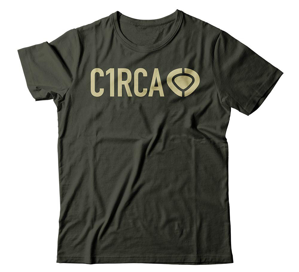 C1rca Din Icon Military Green Men's T-Shirt