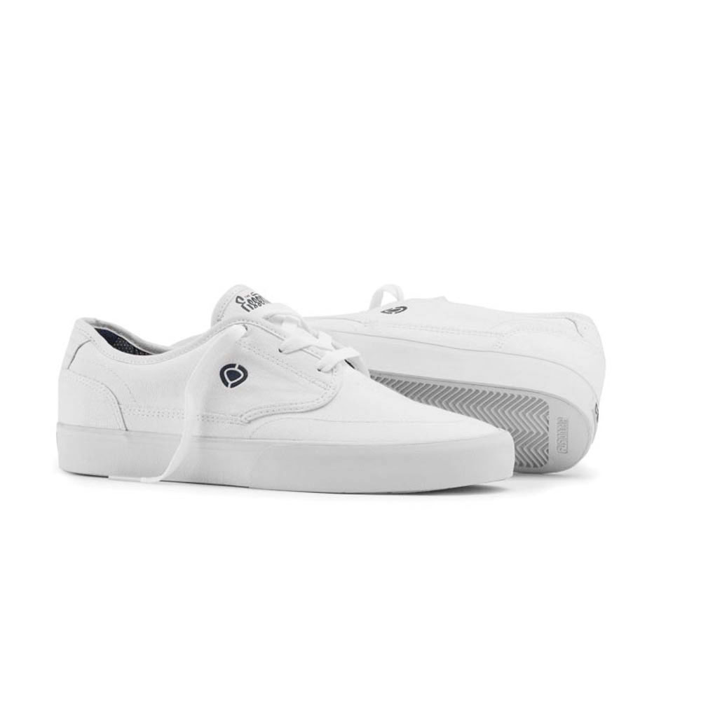 C1rca Essential White Dark Denim Men's Shoes