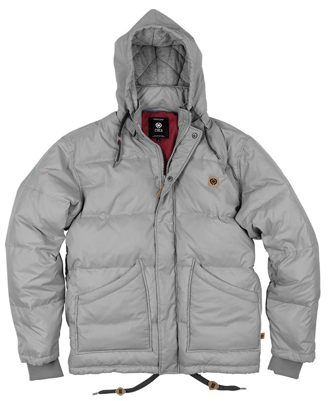 C1rca Etne Puff Frost Gray Men's Jacket