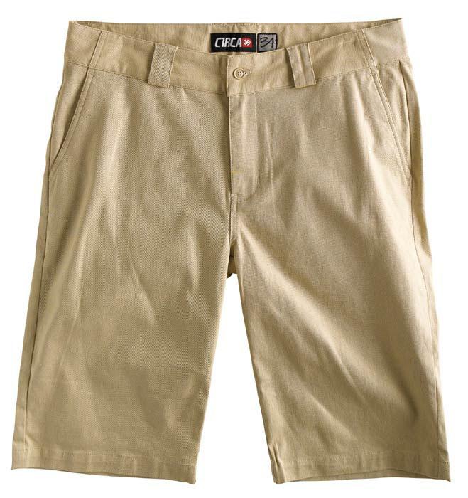 C1rca Flat Front Chino Moja Desert Men's Short
