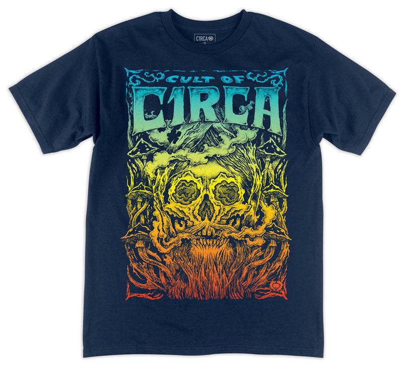 C1rca Fortess Navy Ανδρικό T-Shirt