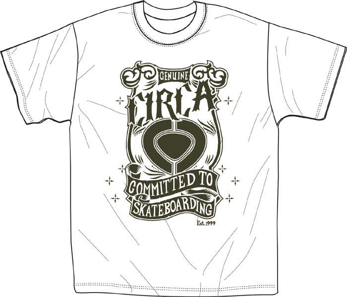 C1rca Genuine White Men's T-Shirt