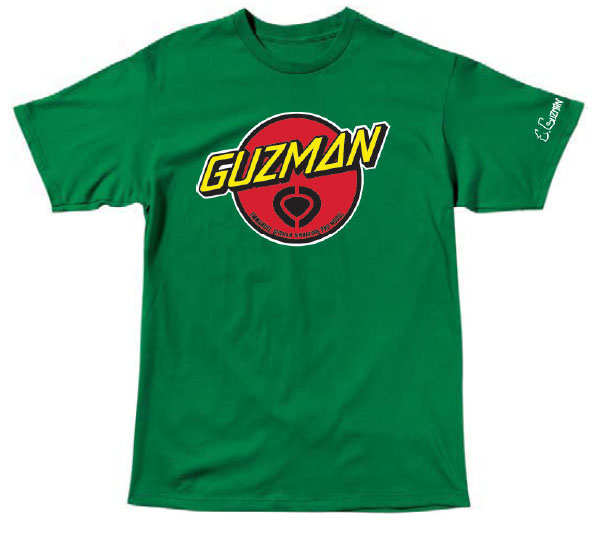 C1rca Guzman Santa Cruz Kelly Green Αντρικό T-Shirt
