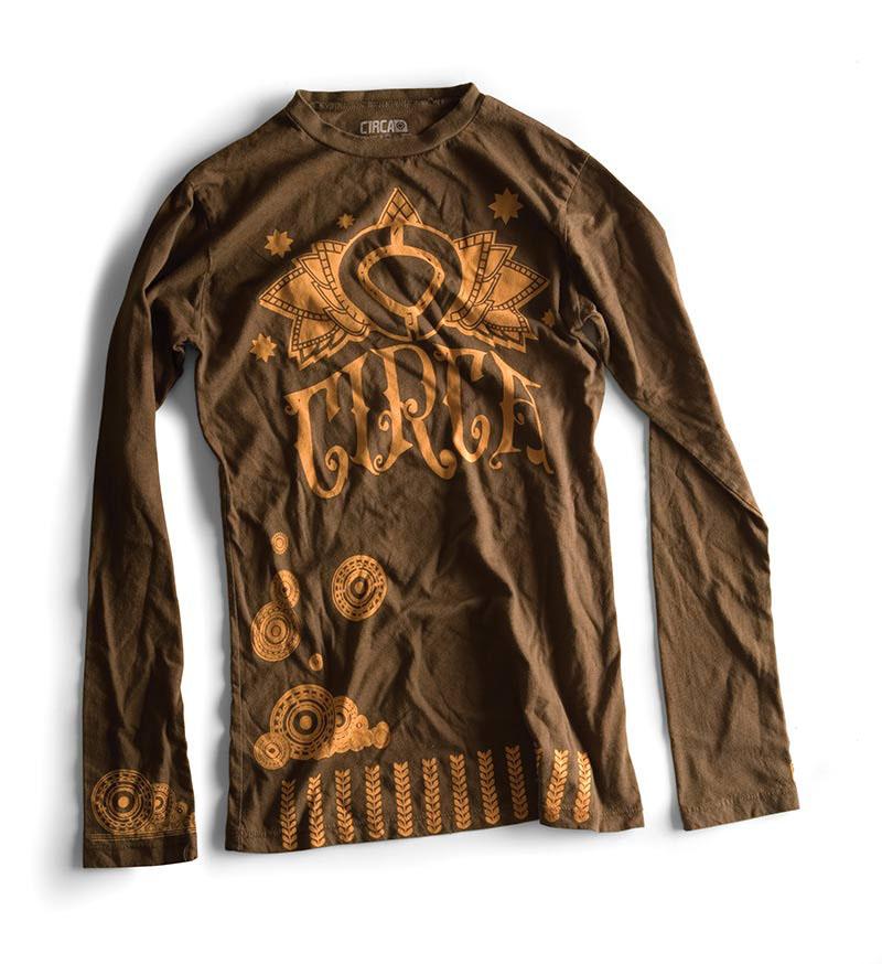 C1rca Henna Duece L/S Earth Γυναικειο T-Shirt
