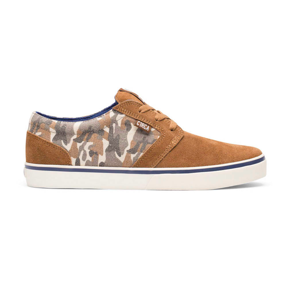 C1rca Hesh Espresso Camo Suede Wash Canvas Camo Men's Shoes