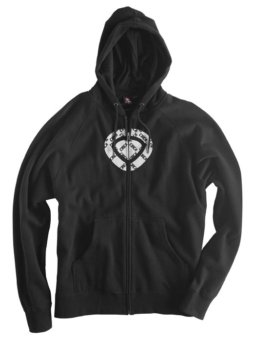 C1rca Icon Corp Black Men's Zip Hood