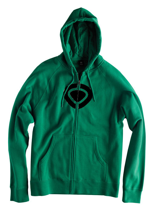 C1rca Icon Green Men's Zip Hood