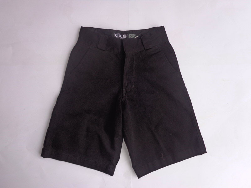 C1rca Impala Black Cross Youth Short
