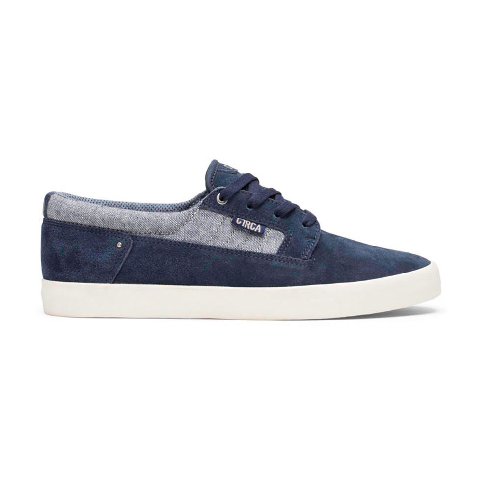 C1rca Lancer Deep Sea Chambray Suede Chambray Men's Shoes