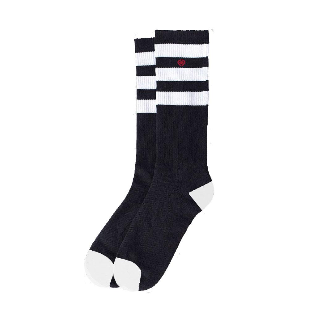 C1rca M.I.B. 20 Cm 3 Stripe Black/White Κάλτσες