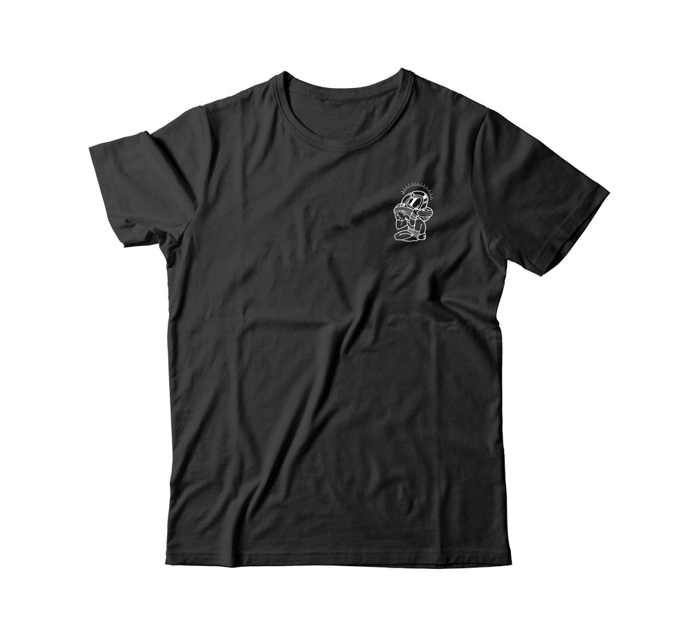 C1rca Maya Black Men's T-Shirt