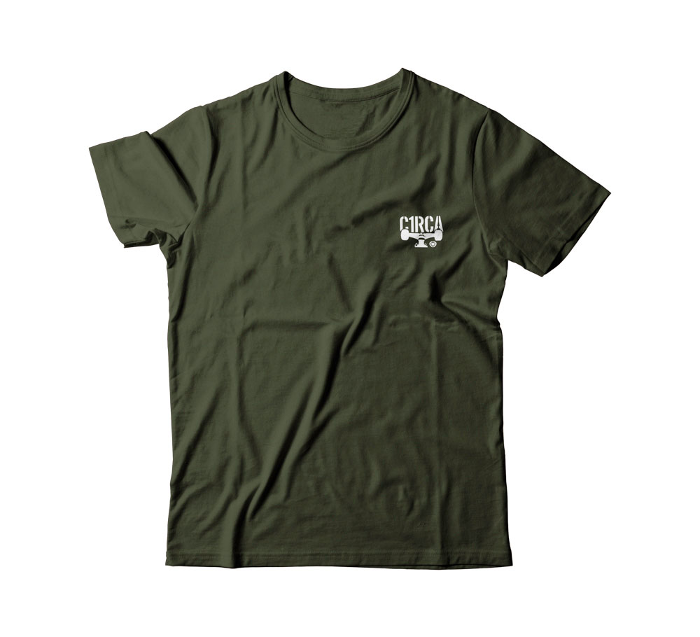C1rca Mini Combat Military Green Men's T-Shirt