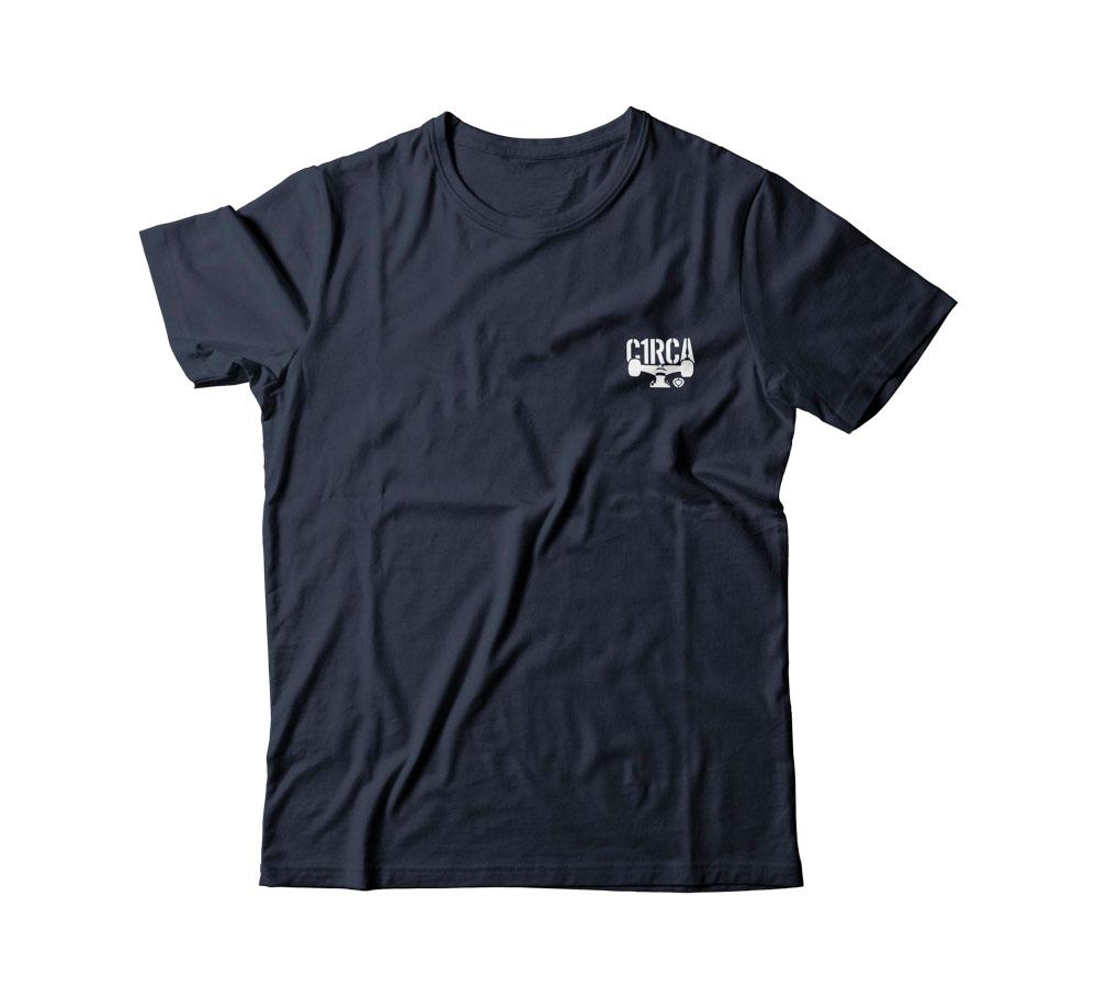 C1rca Mini Combat Navy Αντρικό T-Shirt