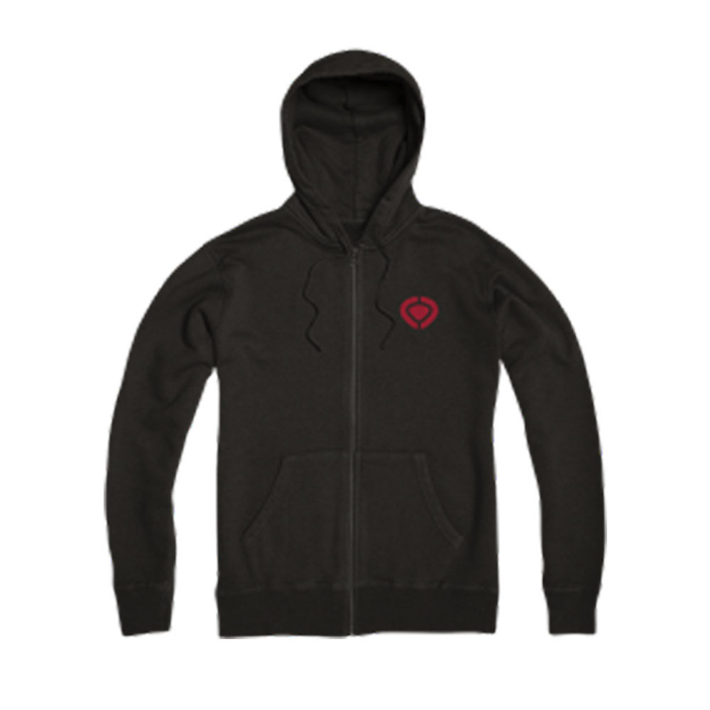 C1rca Mini Icon Black Men's Zip Hood