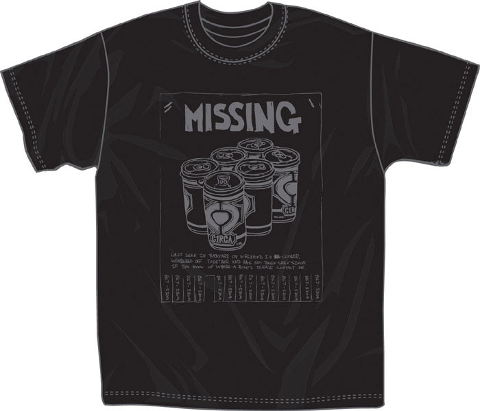 C1rca Missing Black Men's T-Shirt