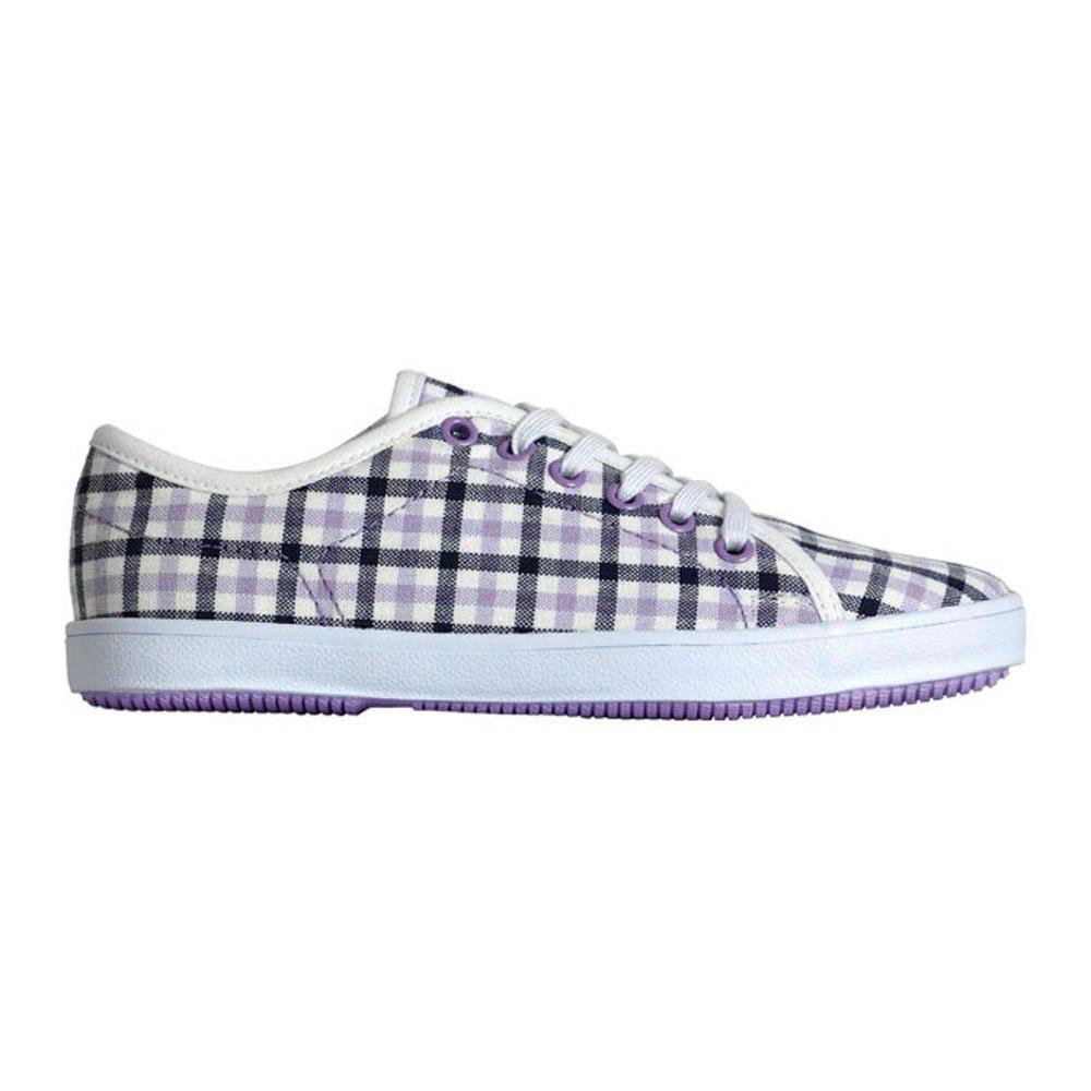 C1rca Natasha White Gin Checkers  Women's Shoes
