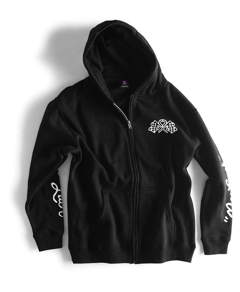 C1rca No Luck Black Men's Zip Hood