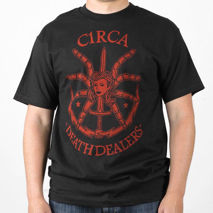 C1rca P-Ram Death Dealer Black Ανδρικό T-Shirt