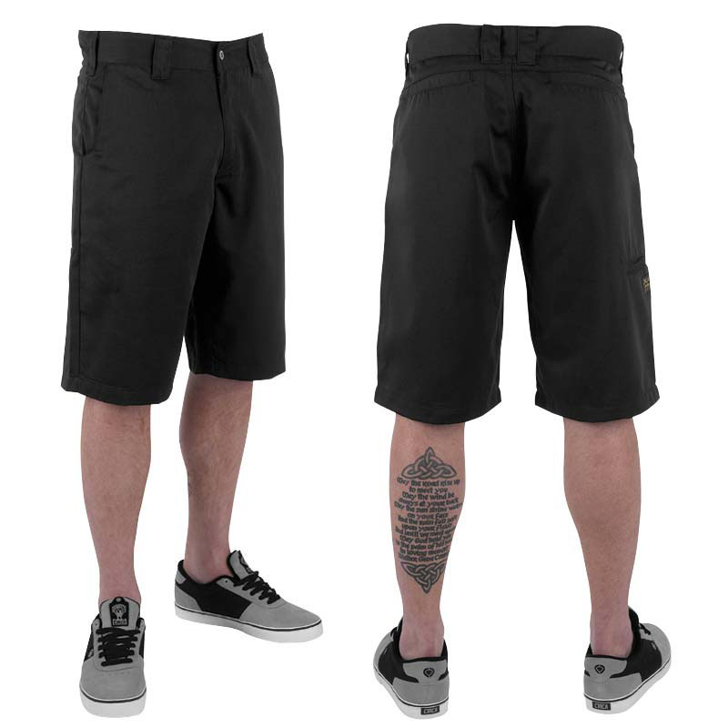 C1rca Park Black Men's Short