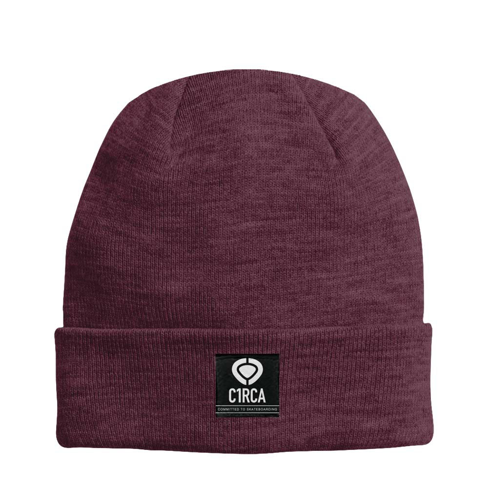 C1rca Patch Heritage Antique Burgundy Beanie