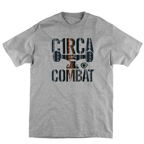 C1rca Combat Pattern Icon Athletic Heather Men's T-Shirt