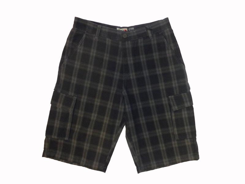 C1rca Plaid Grey Men's Short