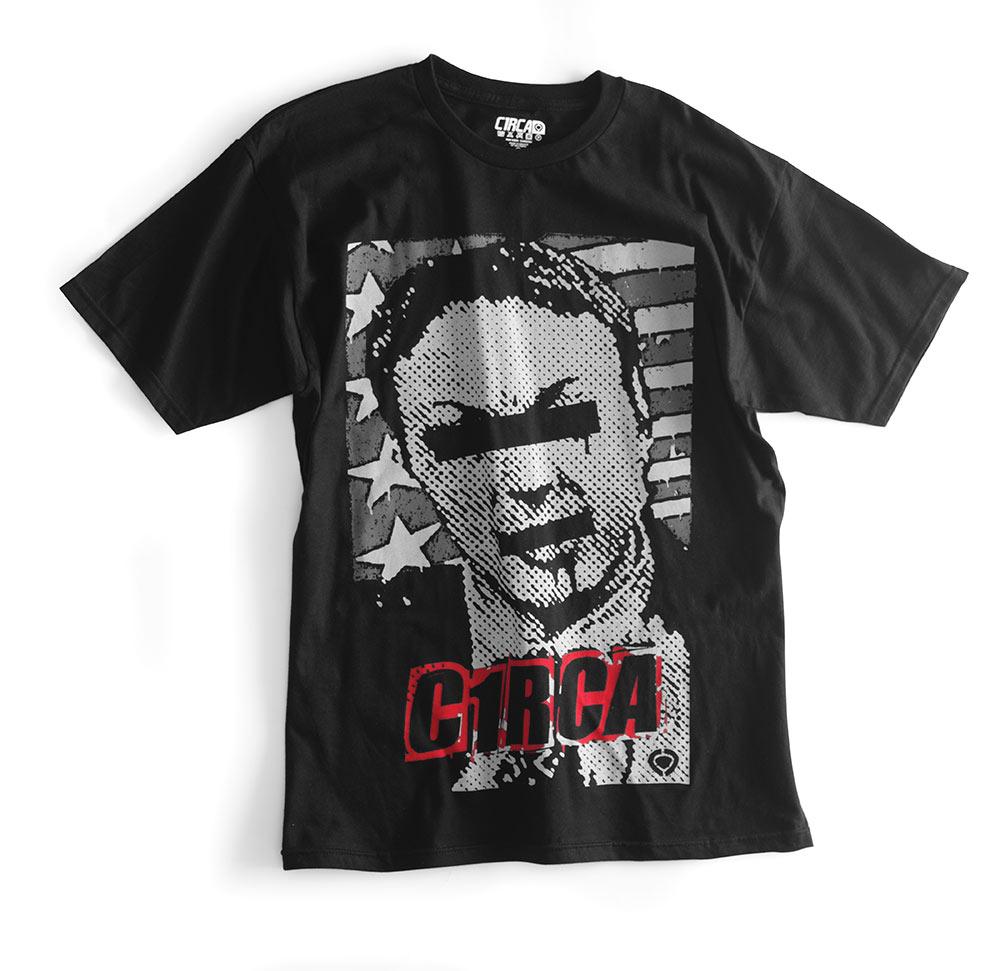 C1rca Politricks Black Ανδρικό T-Shirt