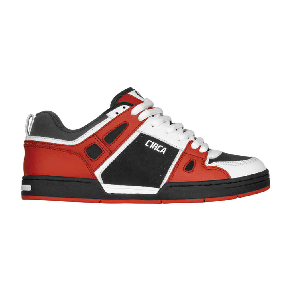 C1rca Rogue Red White Black Men's Shoes