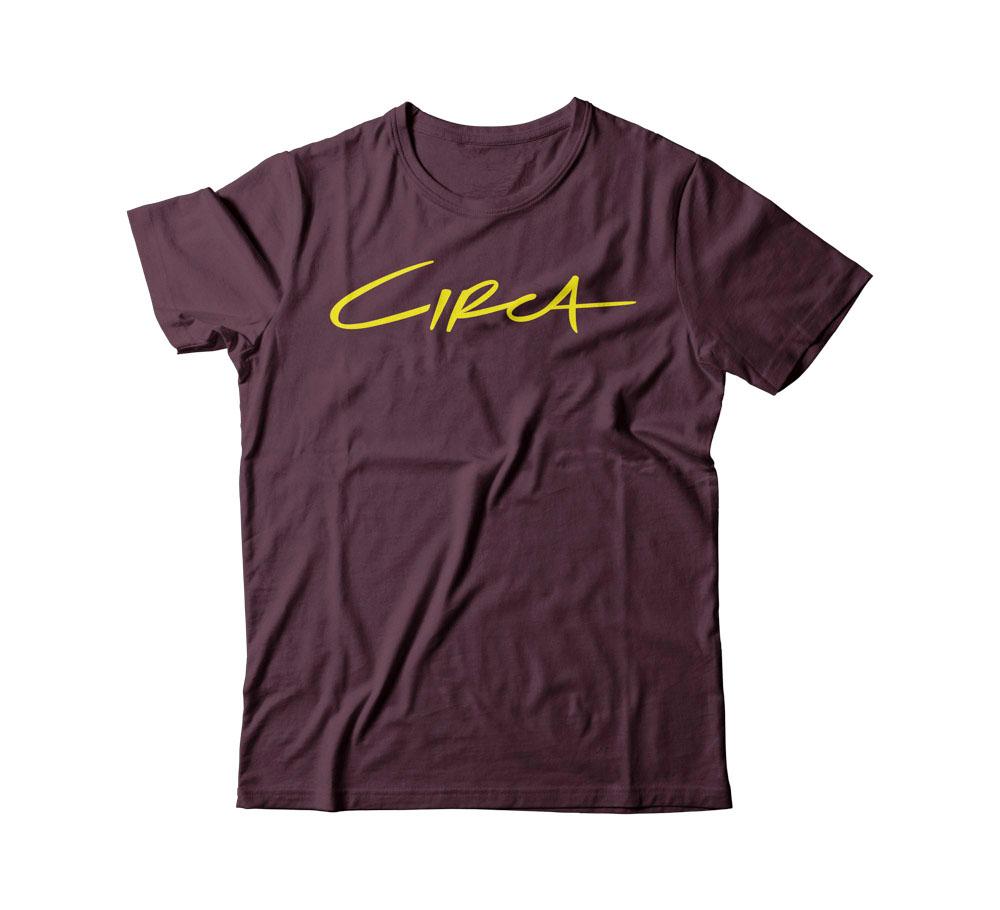 C1rca Select Maroon Ανδρικό T-Shirt