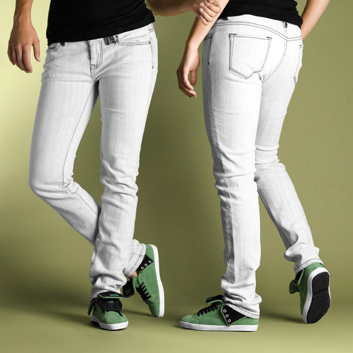 C1rca Select Skinny Washed/Grey Γυναικείο Παντελόνι